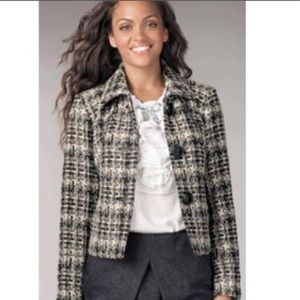 [Cabi] Corporate Tweed Blazer Jacket #630